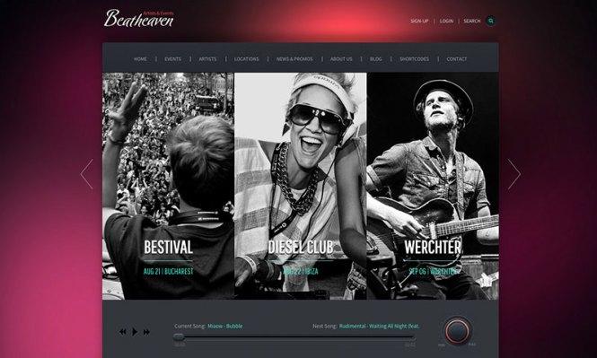 beatheaven-music-theme