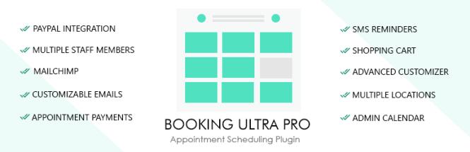 Réservation Calendrier des rendez-vous Ultra Pro Plugin WordPress gratuit