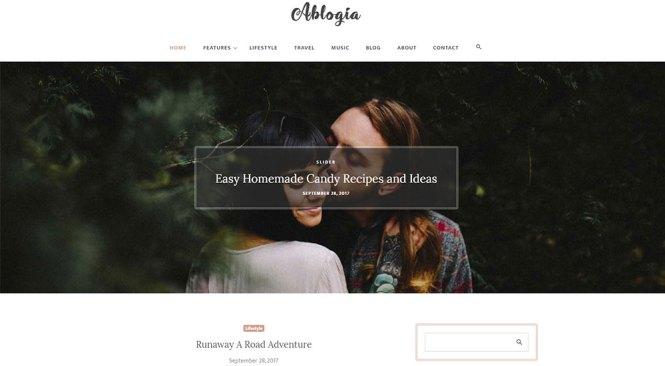 Albogia WordPress Thème