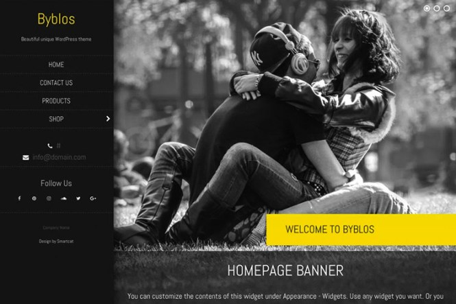 Thème WordPress gratuit de Byblos