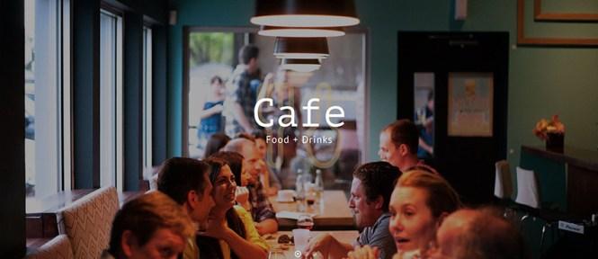 Café par Total Meilleurs thèmes WordPress pour restaurants