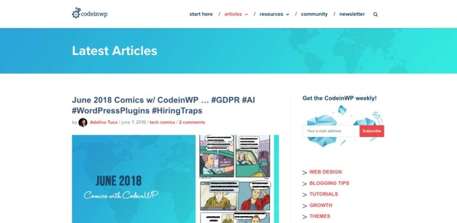 Blogs WordPress à suivre - CodeInWP
