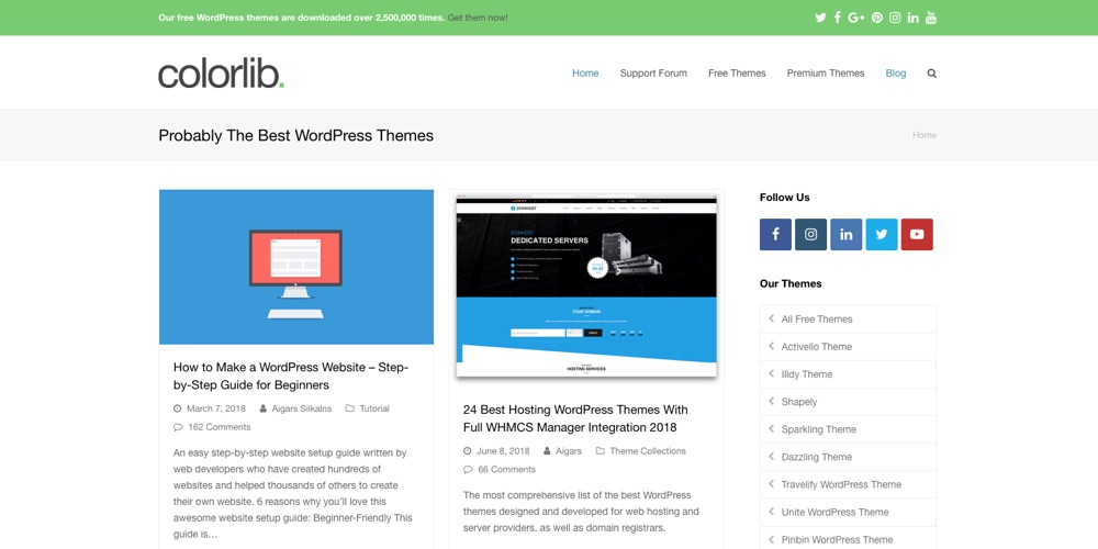 WordPress Blogs You Should Follow - Colorlib