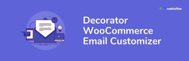 Décorateur - Personnalisateur de courrier électronique WooCommerce