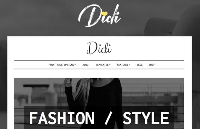 Thème WordPress Didi Fashion