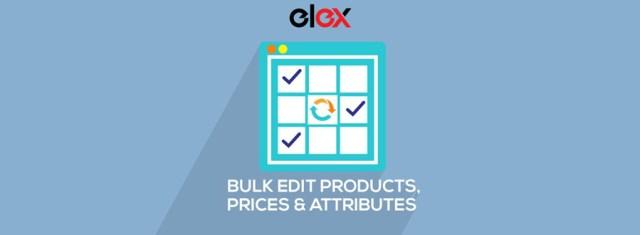 ELEX WooCommerce Advanced Bulk Edit Products, Prices & Attributes