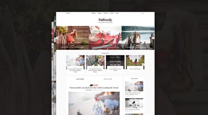 Thème WordPress Fashionly Simply Elegant Fashion Blog