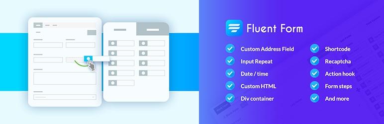 FluentForm - лучший плагин для перетаскивания форм для WordPress