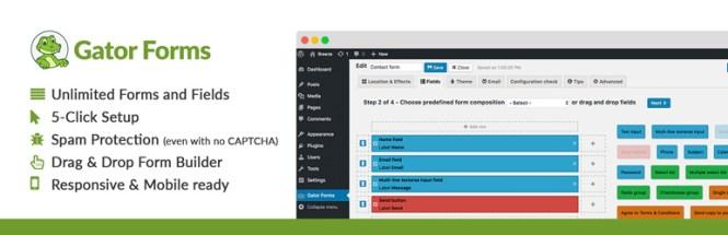 Gator Forms WordPress Plugin Gratuit