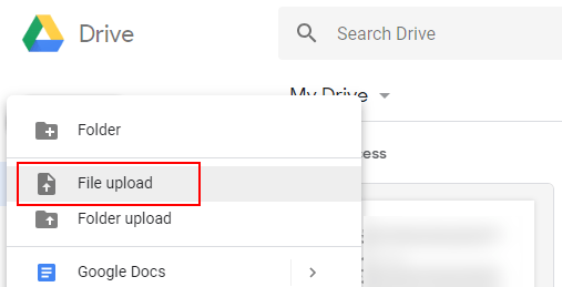 Загрузка файла с Google Диска