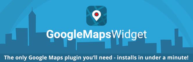 Meilleurs plugins de cartographie: Google Maps Widget