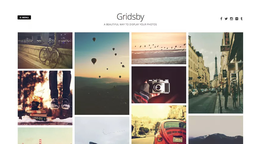 Gridsby Бесплатная тема WordPress