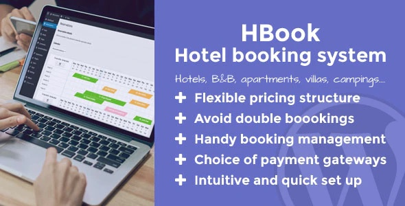 HBook Hotel Booking Plugin