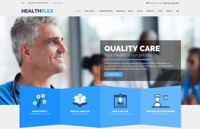 Thème WordPress Healthflex