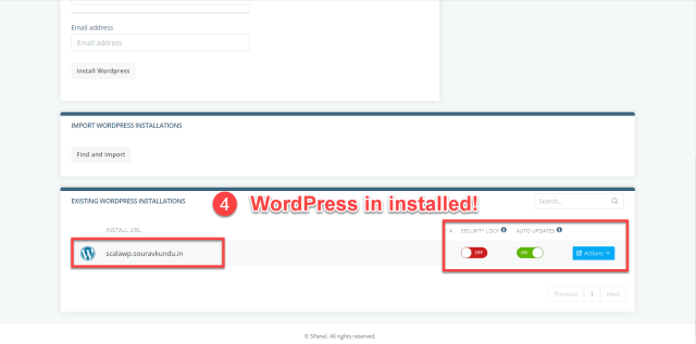 how to install wordpress scala hosting wordpress manager part 3