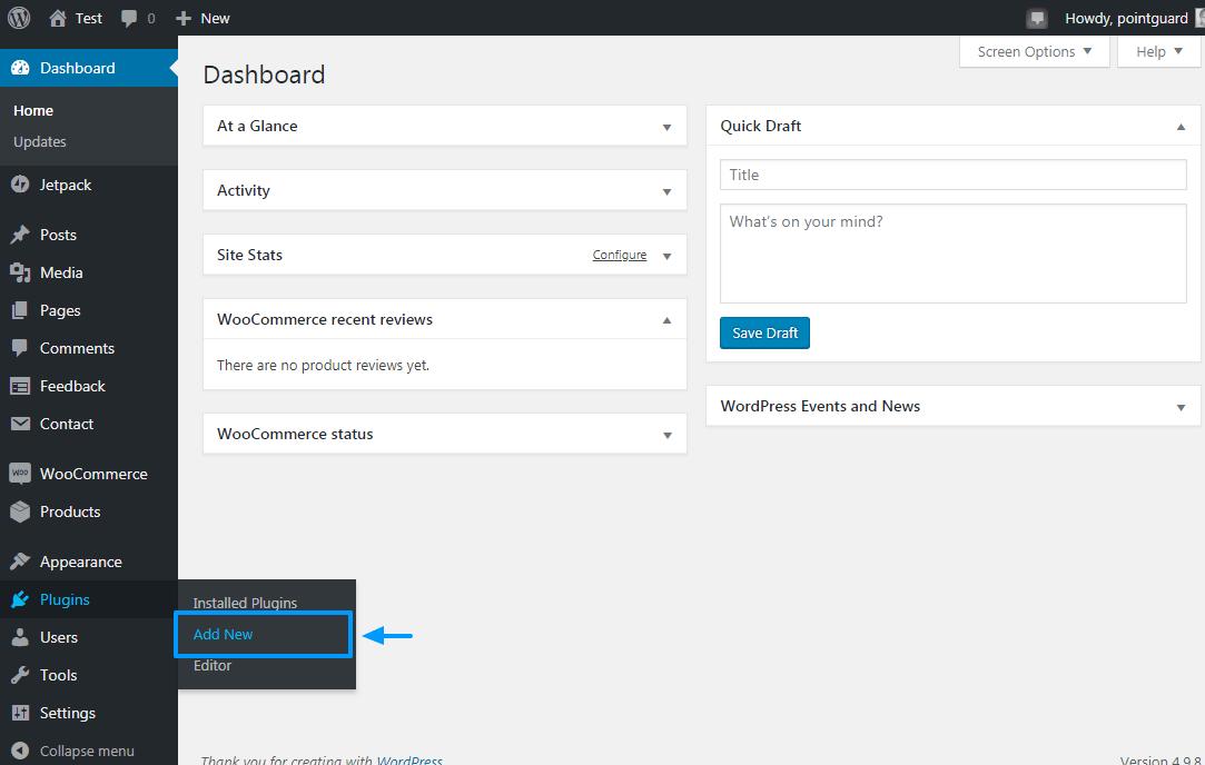 установка заброшенной корзины pro plugin