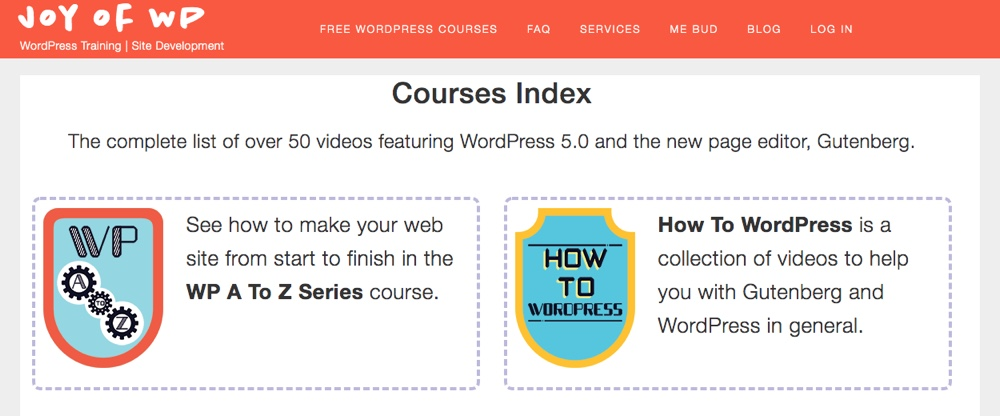 Радость WP: Обучение WordPress