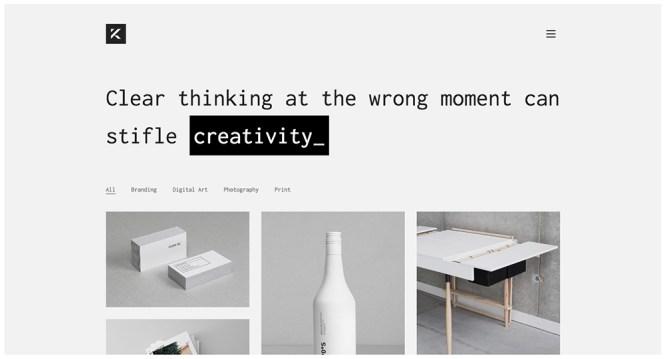 Kalium Professional Creative Thème WordPress