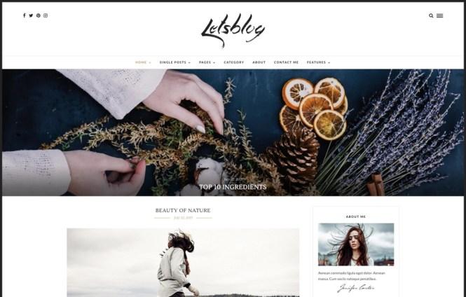 Blog de thème WordPress