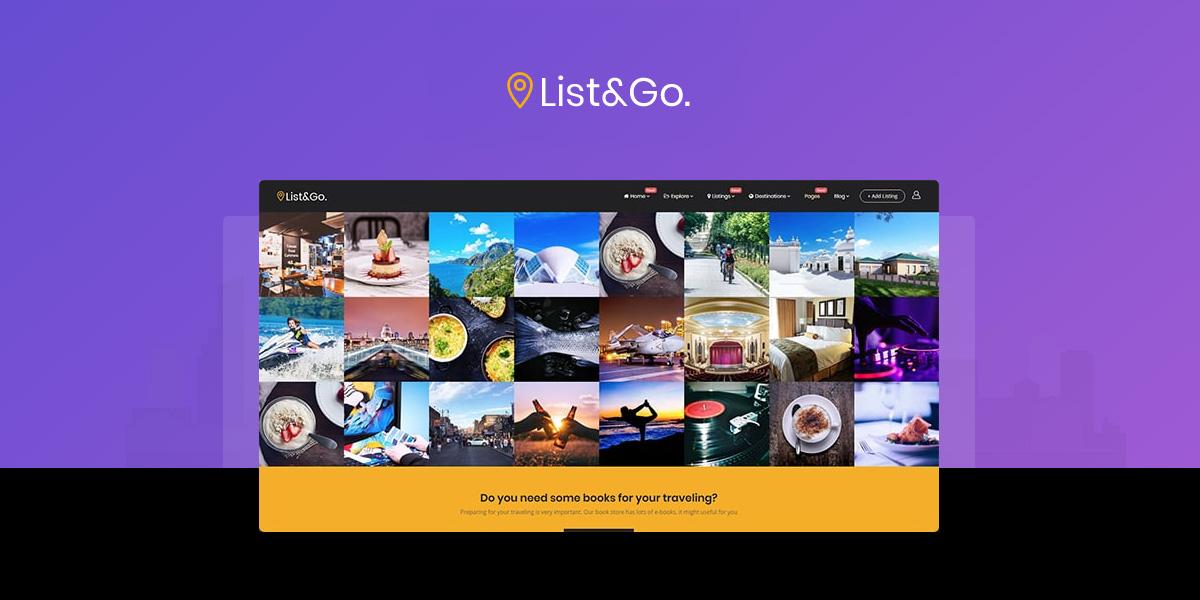 ListGo Directory WordPress Theme: Best Directory WordPress Themes