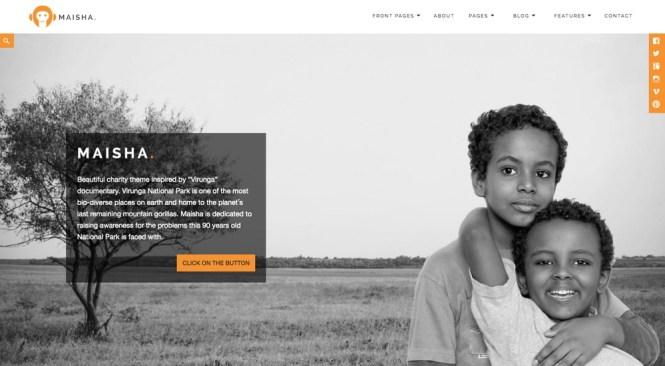 Thème WordPress Maisha Charity