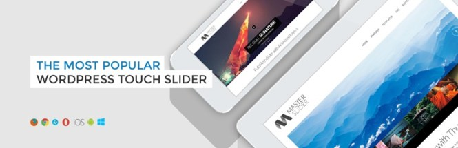 Plugin WordPress gratuit pour Master Slider