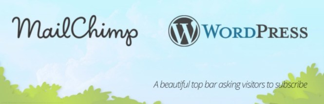 MailChimp Top Bar Plugin