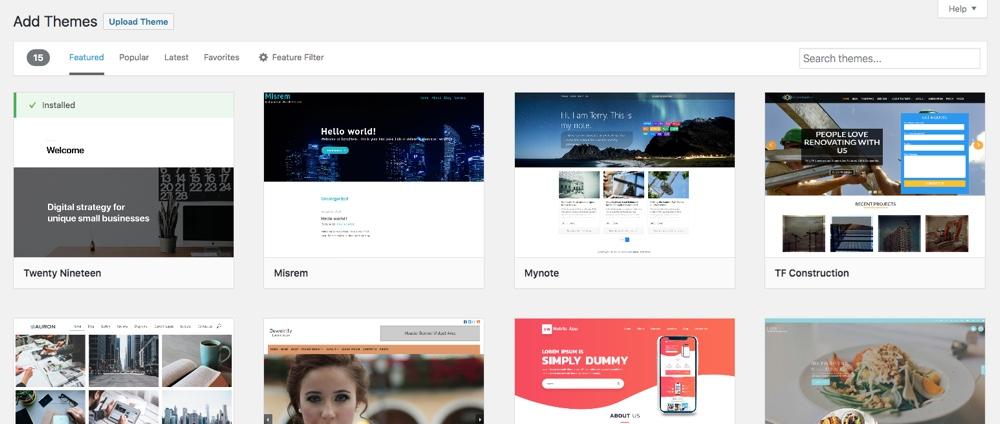 Настройте свой дизайн с темой WordPress