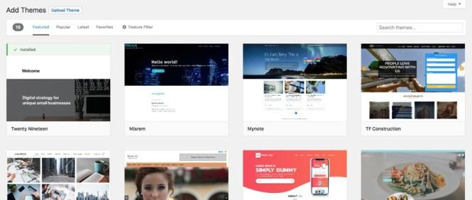 Personnalisez votre design avec un thème WordPress