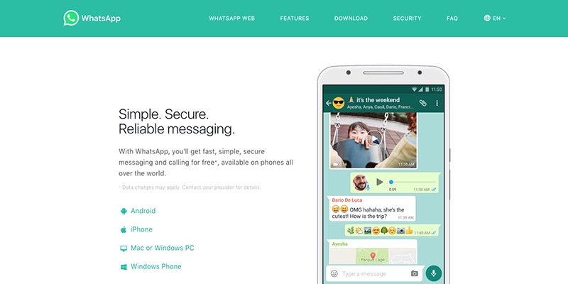 Messaging Apps to Drive Traffic to Your WordPress Site: Whatsapp