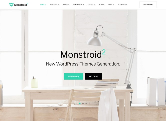 Thème WordPress Monstroid 2 Business