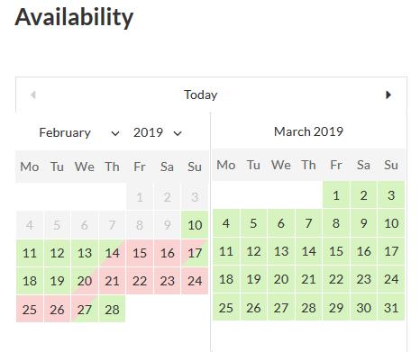 Мотопресс бронирование гостиниц календарь доступности