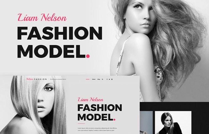 Thème WordPress de Nelson Fashion Model Agency