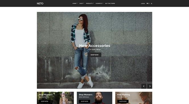 Neto eCommerce Thème WordPress
