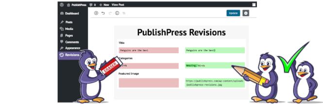 Publier les révisions de la presse