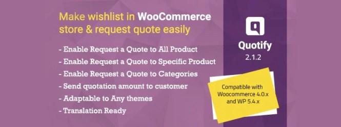 Quotify - WooCommerce Demander un devis