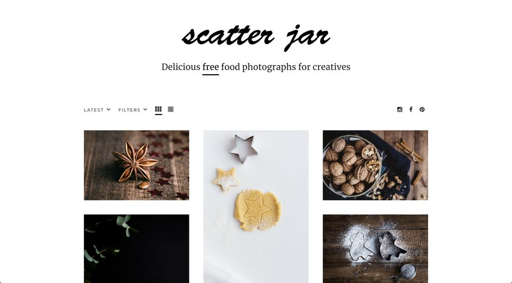 scatterjar free high-resolution stock photos wpexplorer