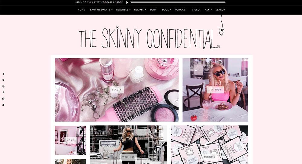 Skinny Confidential Beauty Blog