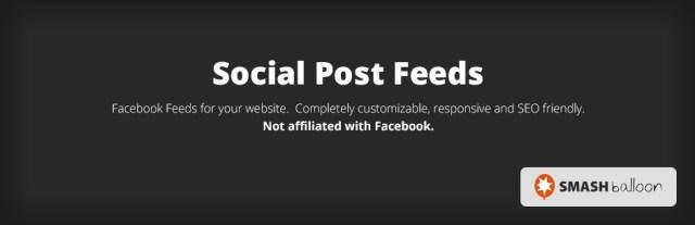 Social Post Feed Plugin