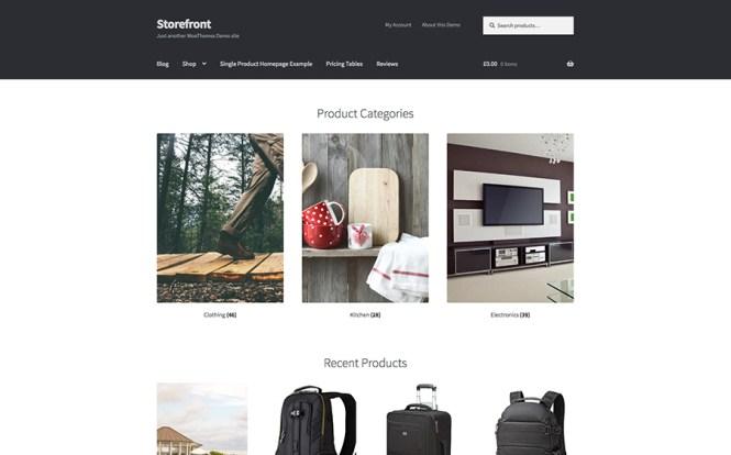 Thème WordPress pour boutique en ligne
