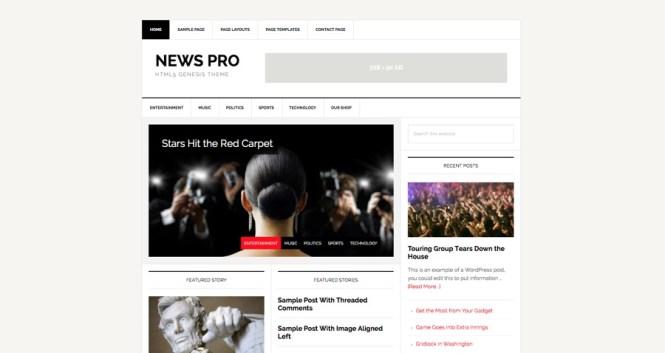 News Pro Thème WordPress