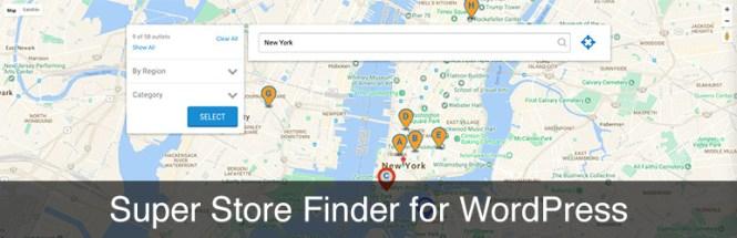 Meilleurs plugins de mappage: Super Store Finder Premium Plugin