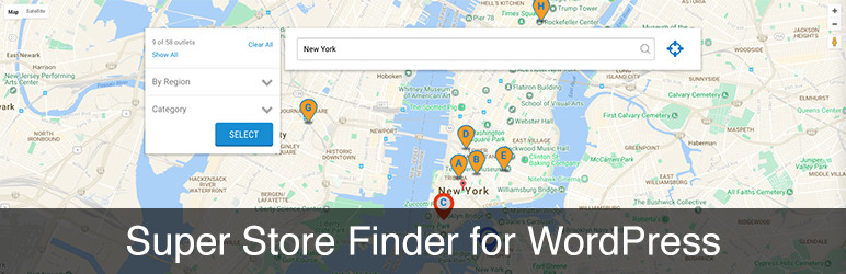 Best Mapping Plugins: Super Store Finder Premium Plugin