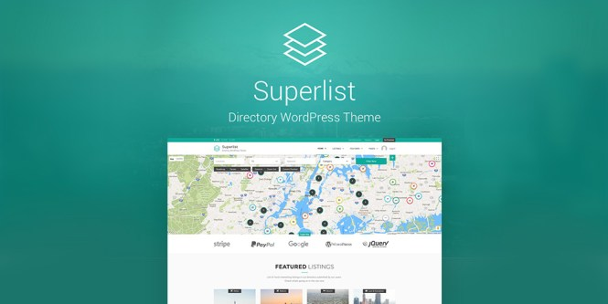 Superlist Directory Thème WordPress