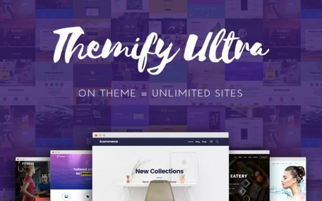 Meilleurs thèmes WordPress: Themify Ultra Thème WordPress