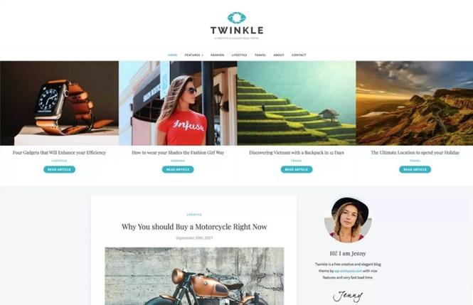 Twinkle Thème WordPress
