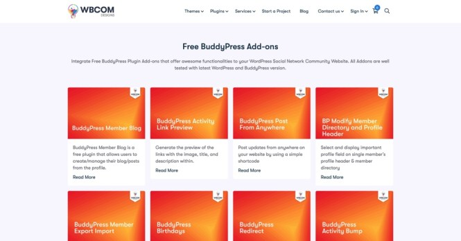 Plugins BuddyPress gratuits