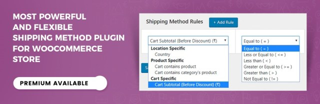 Advanced Flat Rate Shipping For WooCommerce