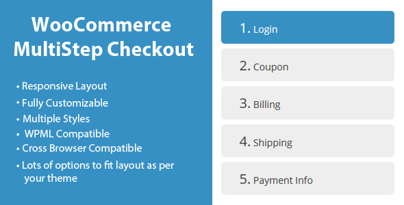 WooCommerce MultiStep Checkout Wizard Premium Complemento
