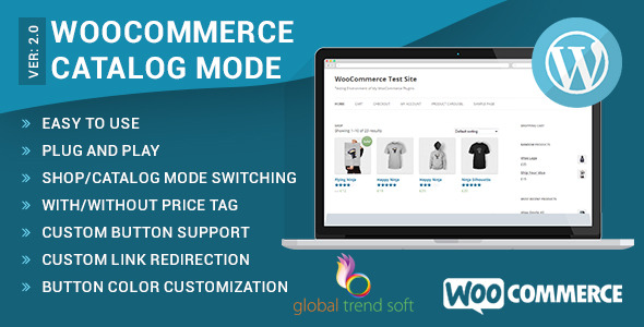 WooCommerce Catalog Mode Premium WordPress Plugin